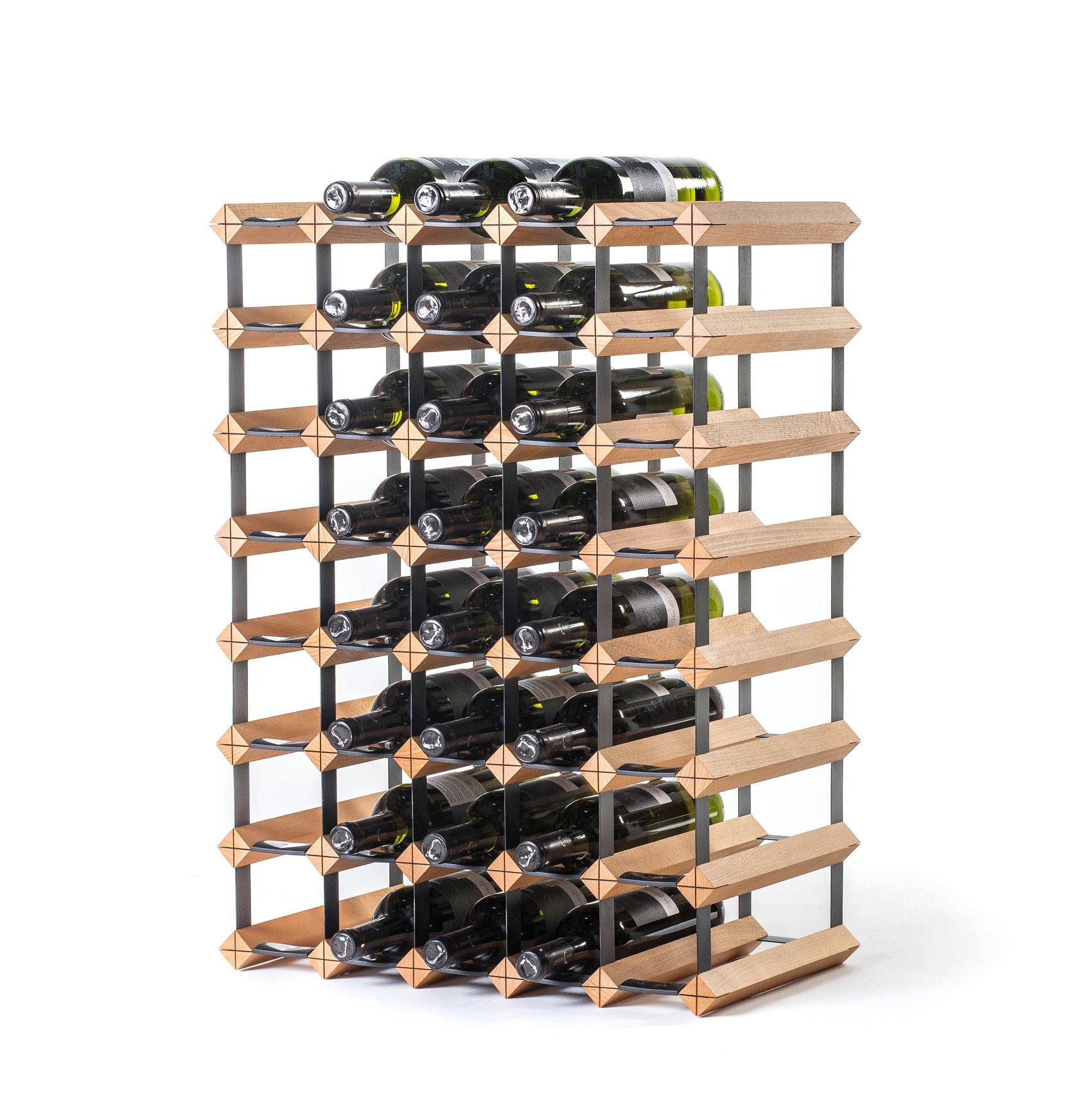 Stojan na víno na 40 lahví
