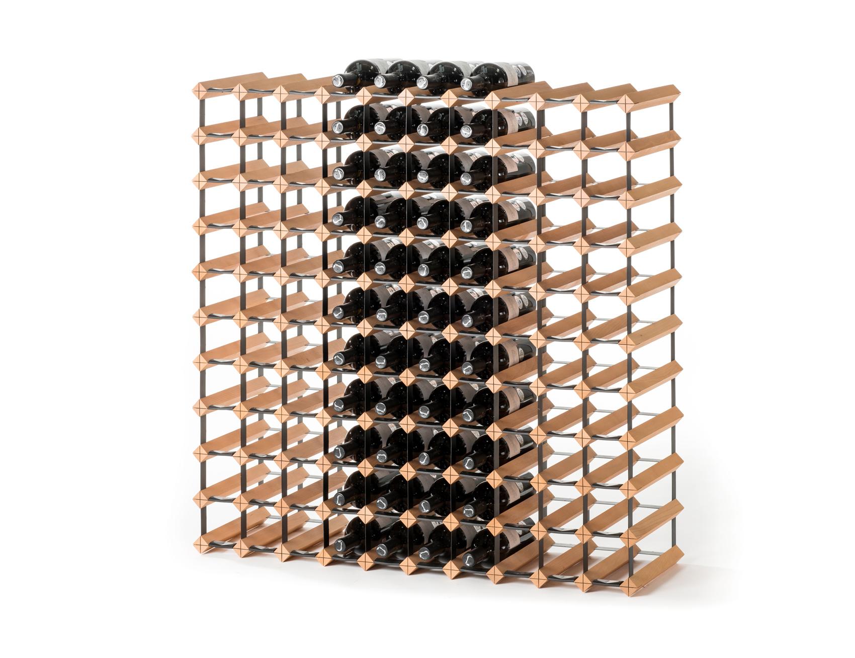 Stojan na víno na 110 lahví