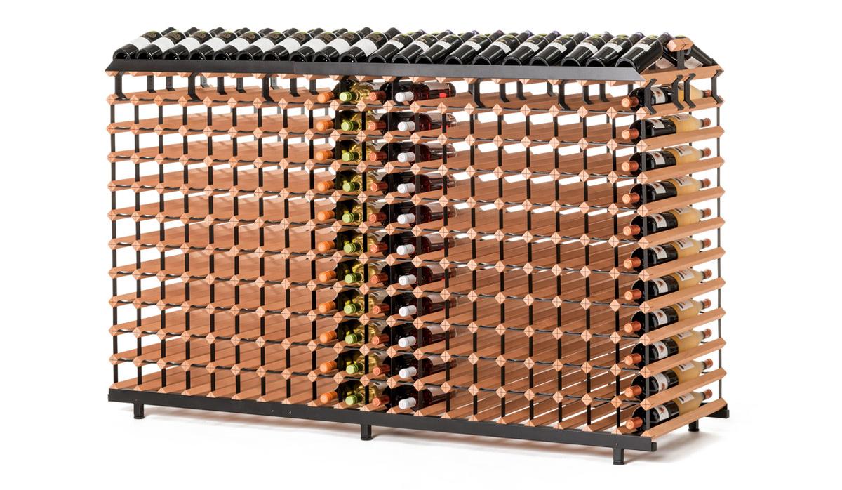 Oboustranný stojan na víno ( 480 lahví )